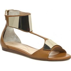 Rzymianki damskie: Sandały BRUNO PREMI – Foulard X2703X Cuoio