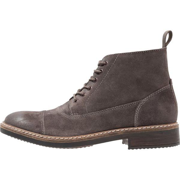 2540509995d759 Clarks BLACKFORD CAP Botki sznurowane gris - Szare buty zimowe ...