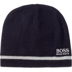 Czapka męska BOSS - Beanie Fleece 1 50371437 410. Niebieskie czapki damskie Boss, z wełny. W wyprzedaży za 229,00 zł.
