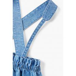 Mango Kids - Spódnica dziecięca Cute 74-98 cm. Fioletowe minispódniczki marki OLAIAN, z elastanu, sportowe. W wyprzedaży za 49,90 zł.