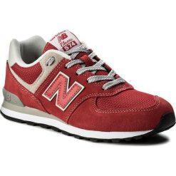Trampki chłopięce: Sneakersy NEW BALANCE – GC574RD Czerwony