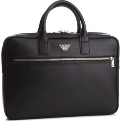 Torba na laptopa EMPORIO ARMANI - Y4P092 YLO7E 81072  Black. Czarne torby na laptopa marki Emporio Armani, ze skóry ekologicznej. Za 939,00 zł.