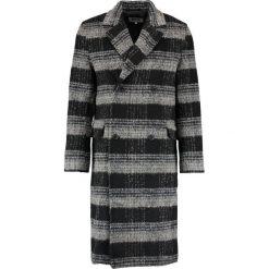 Płaszcze męskie: Weekday TRISTAN CHECKED Płaszcz wełniany /Płaszcz klasyczny black/beige