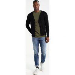 Swetry rozpinane męskie: Sisley Kardigan black