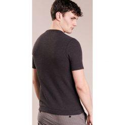 BOSS Orange TRIXER Tshirt z nadrukiem black. Czarne koszulki polo BOSS Orange, l, z nadrukiem, z bawełny. Za 289,00 zł.