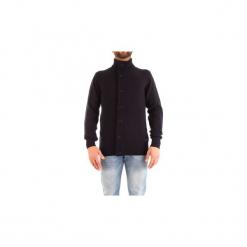Swetry rozpinane / Kardigany Barbour  BAMAG0435. Niebieskie kardigany męskie Barbour, m. Za 571,91 zł.