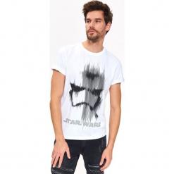 T-SHIRT STAR WARS. Szare t-shirty męskie Top Secret, na lato, m, z motywem z bajki, z bawełny. Za 69,99 zł.