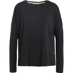 Bluzy rozpinane damskie: BOSS Orange Bluza black