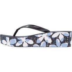 Chodaki damskie: Armani Exchange Japonki kąpielowe blue