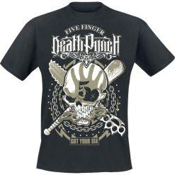 T-shirty męskie: Five Finger Death Punch Got your six T-Shirt czarny