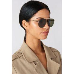 Okulary przeciwsłoneczne damskie: Le Specs Okulary przeciwsłoneczne Liberation – Black