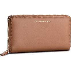 Portfele damskie: Duży Portfel Damski TOMMY HILFIGER – Smooth Leather Za Wallet AW0AW05138 295