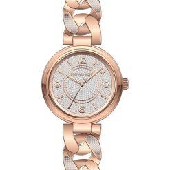 Zegarek MICHAEL KORS - Outlet Ellie MK3635 Rose Gold/Rose Gold. Czerwone zegarki damskie Michael Kors. W wyprzedaży za 1229,00 zł.