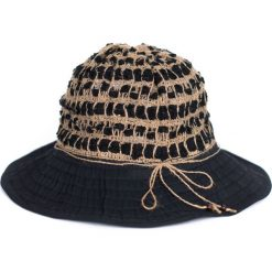 Kapelusz damski naturalny, na lato czarny. Białe kapelusze damskie marki Born2be, na lato. Za 21,37 zł.