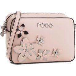 Torebka NOBO - NBAG-E1600-C004 Różowy. Czerwone listonoszki damskie marki Nobo, ze skóry ekologicznej. W wyprzedaży za 109,00 zł.