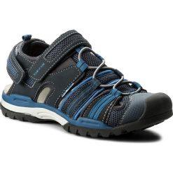 Sandały GEOX - J Borealis B. C J720RC 05014 C0700 D Navy/Avio. Niebieskie sandały męskie skórzane marki Geox. W wyprzedaży za 249,00 zł.
