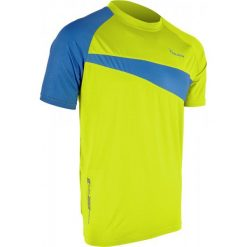Koszulki do fitnessu męskie: Silvini Koszulka Coli md470 Lime-Lake Xl