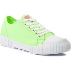 Trampki CALVIN KLEIN JEANS - Beato S1748  Chemical Yellow. Zielone trampki męskie marki Calvin Klein Jeans, z gumy. Za 519,00 zł.