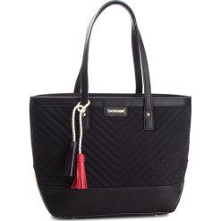 Torebka MONNARI - BAG9220-020 Black. Czarne torebki klasyczne damskie marki Monnari, z materiału, bez dodatków. W wyprzedaży za 199,00 zł.