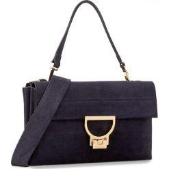 Torebka COCCINELLE - BD6 Arlettis Suede E1 BD6 12 01 01 Bleu 011. Niebieskie torebki klasyczne damskie marki Coccinelle, ze skóry, duże. W wyprzedaży za 1149,00 zł.