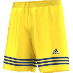 Adidas Spodenki męskie Entrada 14 żółte r. L (F50635). Białe spodenki sportowe męskie marki Adidas, l, z jersey, do piłki nożnej. Za 37,99 zł.