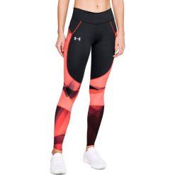 Spodnie damskie: Under Armour Legginsy damskie Speedpocket Run Printed Tights czarne r. L (1323051-001)