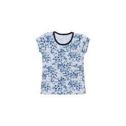 Bluzka dziewczęca we wzory. Szare t-shirty dziewczęce TXM. Za 9,99 zł.