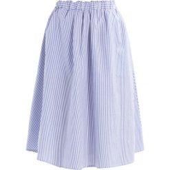 Spódniczki trapezowe: YAS YASNINA SKIRT Spódnica trapezowa star white/blue