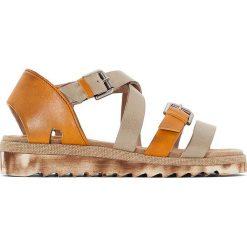 Rzymianki damskie: Sandały skórzane Libby