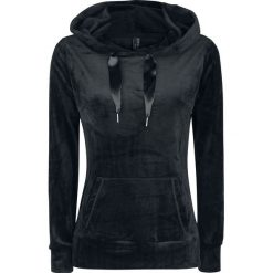 Bluzy rozpinane damskie: Fresh Made Nicki Pullover Bluza z kapturem damska czarny
