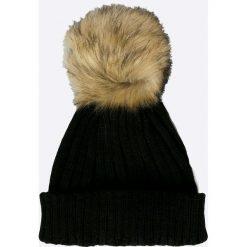 Tally Weijl - Czapka. Czarne czapki zimowe damskie TALLY WEIJL, na zimę, z dzianiny. W wyprzedaży za 29,90 zł.