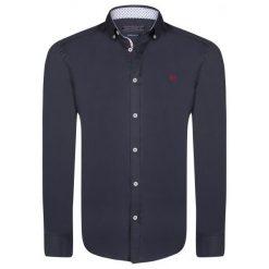 Felix Hardy Koszula Męska L Ciemnoniebieska. Niebieskie koszule męskie marki Oakley, na lato, z bawełny, eleganckie. W wyprzedaży za 159,00 zł.