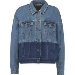 Bomberki damskie: Noisy May NMCHO TWO COLORED SHORT JACKET Kurtka jeansowa medium blue denim