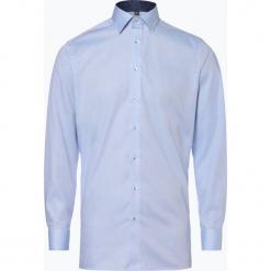 Finshley & Harding - Koszula męska, niebieski. Czarne koszule męskie marki Finshley & Harding, w kratkę. Za 179,95 zł.