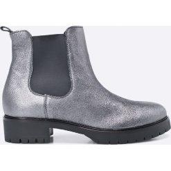 Gino Rossi - Botki Donata. Szare buty zimowe damskie marki Gino Rossi, z materiału, z okrągłym noskiem. W wyprzedaży za 249,90 zł.