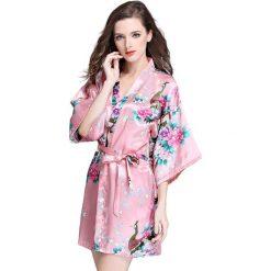 Szlafroki kimona damskie: Szlafrok w kolorze koralowym