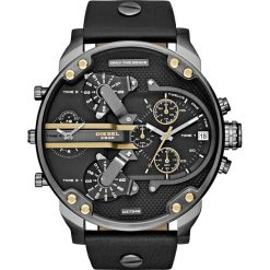 Zegarek DIESEL - Mr Daddy 2.0 DZ7348  Black/Gunmetal. Czarne zegarki męskie Diesel. Za 1399,00 zł.