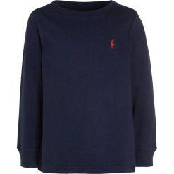 Bluzki dziewczęce bawełniane: Polo Ralph Lauren BASIC Bluzka z długim rękawem newport navy