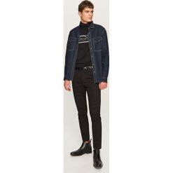 Spodnie męskie: Eleganckie joggery - Czarny