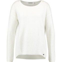 Swetry klasyczne damskie: Rich & Royal Sweter  pearl white