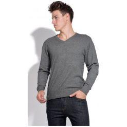 William De Faye Sweter Męski Xxl Szary. Niebieskie swetry klasyczne męskie marki Oakley, na lato, z bawełny, eleganckie. Za 259,00 zł.