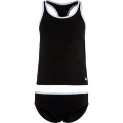 Stroje jednoczęściowe dziewczęce: Nike Performance GIRLS SWIM RACERBACK SPORT TANKINI Kostium kąpielowy black