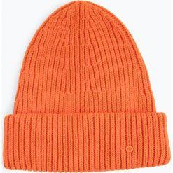 Marc O'Polo - Czapka damska, pomarańczowy. Brązowe czapki damskie Marc O'Polo, z dzianiny. Za 269,95 zł.
