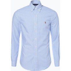 Polo Ralph Lauren - Koszula męska – Slim Fit, niebieski. Niebieskie koszule męskie slim marki Polo Ralph Lauren, m, w kratkę, z bawełny, polo. Za 399,95 zł.