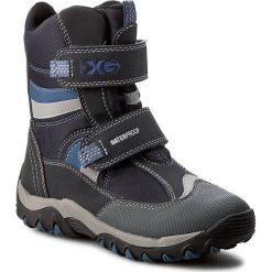 Buty zimowe chłopięce: Śniegowce GEOX – J Alas.Xg B Wpf A J642MA 0CE11 C0700 Navy/Avio