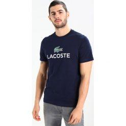 T-shirty męskie: Lacoste Tshirt z nadrukiem marine
