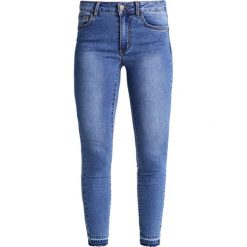 Vila VICOMMIT Jeans Skinny Fit medium blue denim. Niebieskie boyfriendy damskie Vila. Za 189,00 zł.