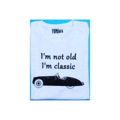 T-shirty męskie: T-shirt I'm not old I'm classic