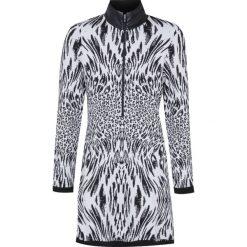 Bluzy rozpinane damskie: Bluza NEWLAND LA NORMA Biały|Print|Czarny