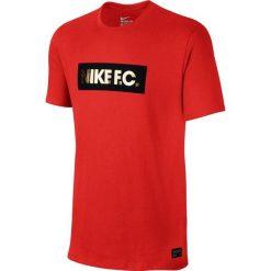 Nike Koszulka męska F.C. Foil Tee czerwona r. S (810505-658). Czerwone t-shirty męskie marki Nike, m. Za 89,00 zł.